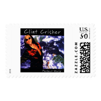Perfect World by Clint Crisher Postage
