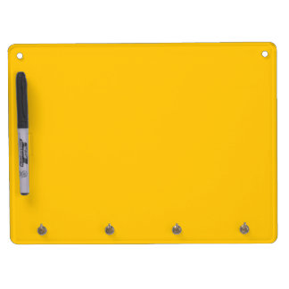Perfect Yellow Dry Erase Board With Keychain Holder