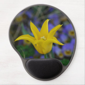 Perfect Yellow Tulip Gel Mouse Pads