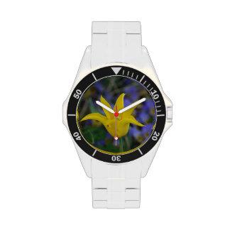Perfect Yellow Tulip Wristwatch