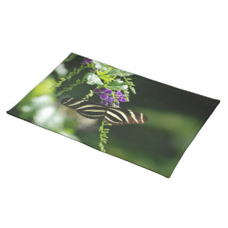 Perfect Zebra Butterfly Placemats
