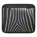 Perfectamente estampado de zebra mangas de iPad