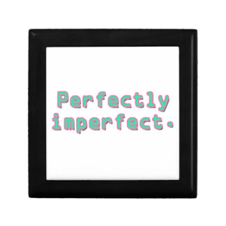 Perfectamente imperfecto caja de joyas