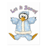 Perfectamente pingüino · Azules cielos Tarjetas Postales
