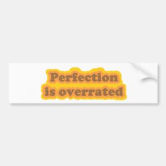 Perfection Bumper Sticker