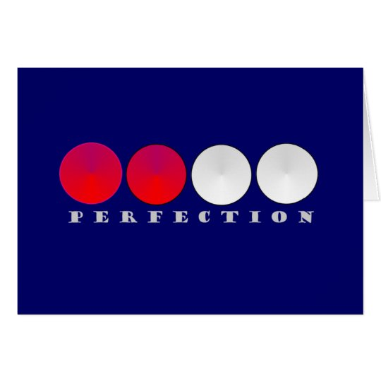 Perfection Card