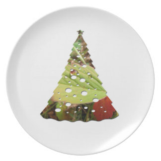 Perfection in Droplet Form; Merry Christmas Plate