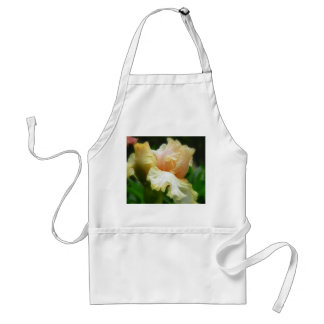 Perfection!  Iris Flower And Petals Adult Apron
