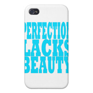 Perfection Lacks Beauty Cover For iPhone 4