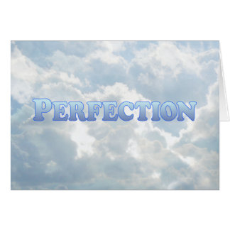 Perfection - Mult-Products Card