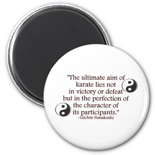 Perfection of Character 2 Inch Round Magnet