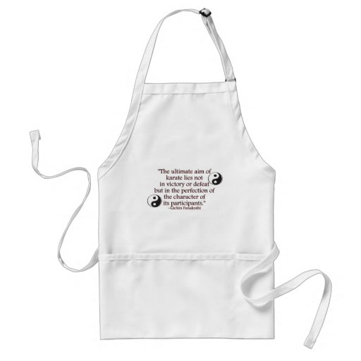 Perfection of Character Adult Apron