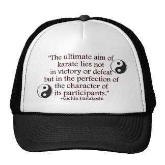 Perfection of Character Hat