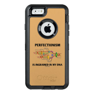 Perfectionism Is Ingrained In My DNA Genetic Humor OtterBox Defender iPhone Case