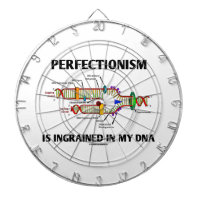Perfectionism Is Ingrained In My DNA (Humor) Dartboards