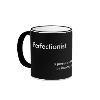 Perfectionist Grad Photo Mug Template