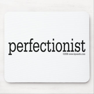 Perfectionist Mouse Pad