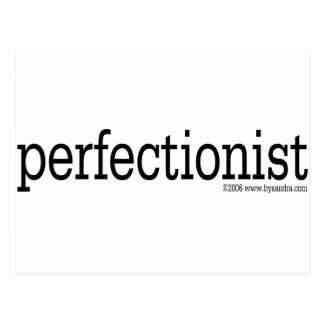Perfectionist Postcard