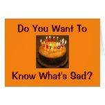 Perfectionist's Birthday Card