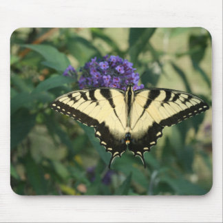 Perfectly Aligned Butterfly Mousepad