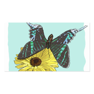 Perfectly Balanced Butterfly Business Card