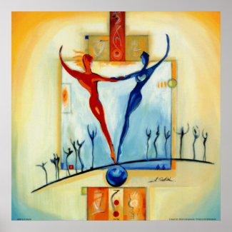 Perfectly Balanced by Artist Alfred Gockel Print