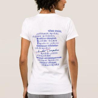 Perfectly Imperfect/Optimistic Rainbow Skies T Shirt