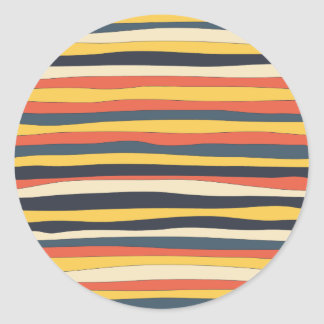 Perfectly Imperfect Stripes Stickers