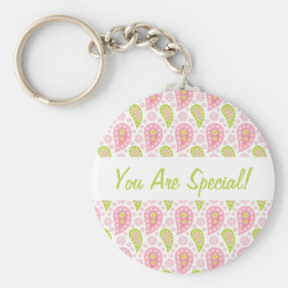 Perfectly Paisley Keychain Personalized For Her