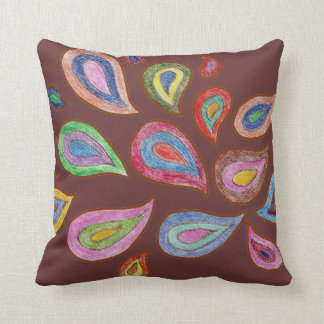 Perfectly Paisley Throw Pillow