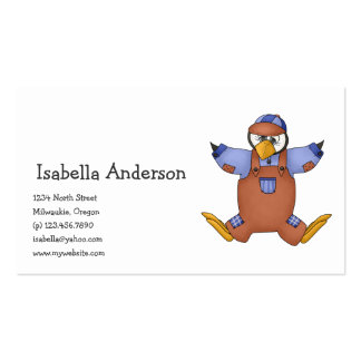 Perfectly Penguin · Boy Brown Business Card