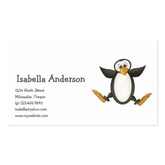Perfectly Penguin · Jumping Business Card