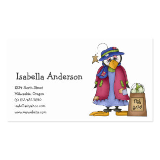 Perfectly Penguin · Shopping Business Card
