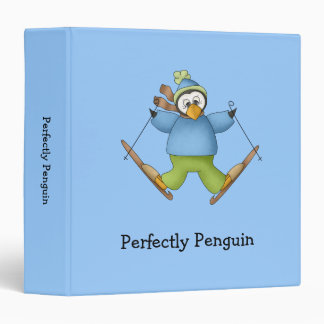 Perfectly Penguin · Skiing Binder