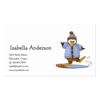 Perfectly Penguin · Snowboarding Business Card