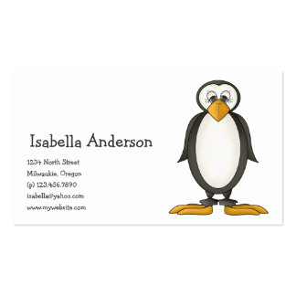 Perfectly Penguin · Standing Business Card