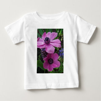 Perfectly Pink Anemone Blossom Baby T-Shirt
