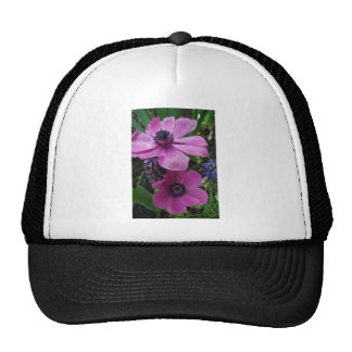Perfectly Pink Anemone Blossom Trucker Hat