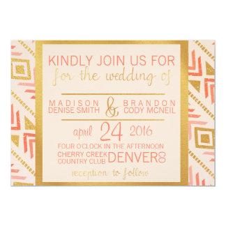 Perfectly Pink Wedding Invitation