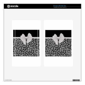 Perfectly Polished Animal Print Design Gifts Kindle Fire Decal