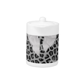 Perfectly Polished Animal Print Design Gifts Teapot