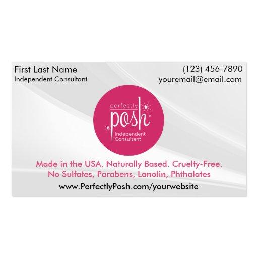 perfectly posh business cards zazzle