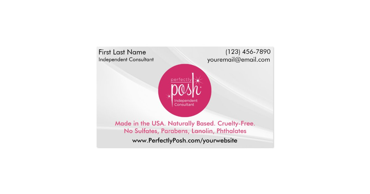 Perfectly Posh Business Cards Zazzle