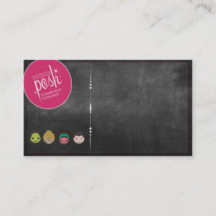 Posh Pink Business Cards Zazzle