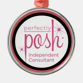 Perfectly Posh Independent Consultant gifts Metal Ornament