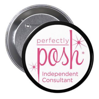 Perfectly Posh Independent Consultant round button