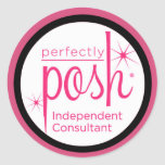 Perfectly Posh Independent Consultant Sticker