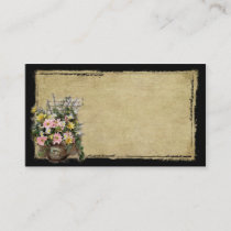 Perfectly Prim Florals- Prim Biz Cards