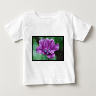 Perfectly Purple Parrot Tulip Baby T-Shirt