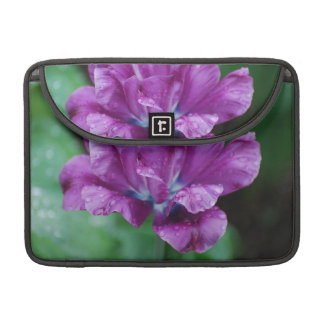 Perfectly Purple Parrot Tulip MacBook Pro Sleeves